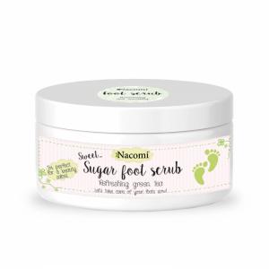 Cukrowy peeling do stóp 100% naturalny - o zapachu zielonej herbaty 100ml