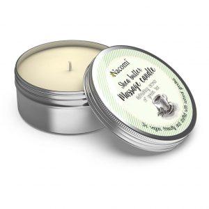 Masło shea w Świecy Zielona Herbata Nacomi 150ml