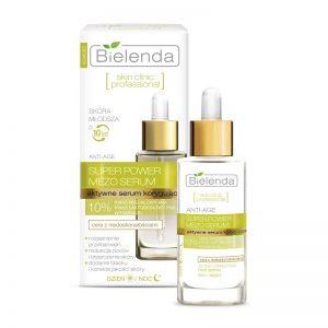 Aktywne serum korygujące ANTI-AGE dzień/ noc Skin Clinic Bielenda 30g