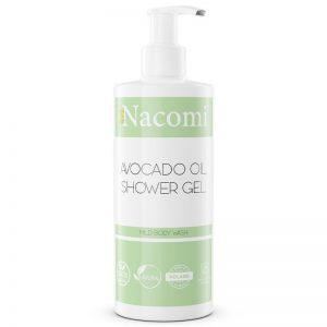 Żel pod prysznic Avocado Nacomi 250ml - drogeria biokosmetyki24.com