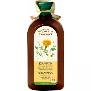Szampon do włosów normalnych i przetłuszczających się Nagietek lekarski Green Pharmacy 350ml