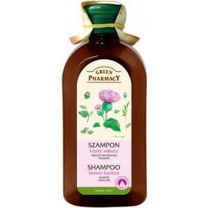 Szampon do każdego rodzaju włosów przeciw wypadaniu Łopian większy Green Pharmacy 350ml