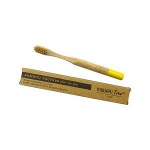 Bambusowa szczoteczka do zębów dla dzieci Mohani