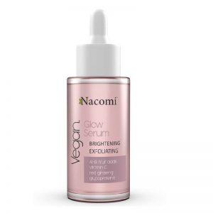 Glow Serum rozjaśniająco-złuszczające Nacomi 40ml - biokosmetyki24.com