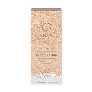 Henna do włosów Bezbarwna Khadi