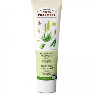 Krem do rąk i paznokci Aloes Green Pharmacy