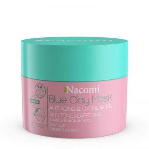 Maska niebieska przeciwzmarszczkowo dotleniająca Nacomi 50ml - biokosmetyki24.com