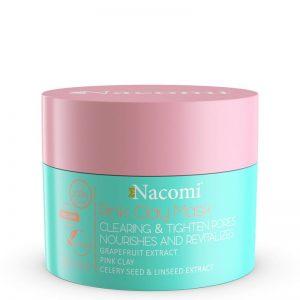 Maska różowa oczyszczająco ściągająca Nacomi - biokosmetyki24.com