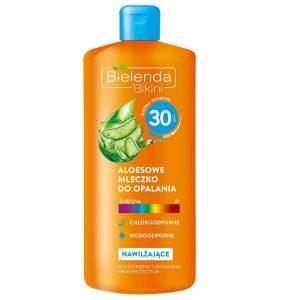 Aloesowe mleczko do opalania SPF 30 Bielenda - biokosmetyki24.com