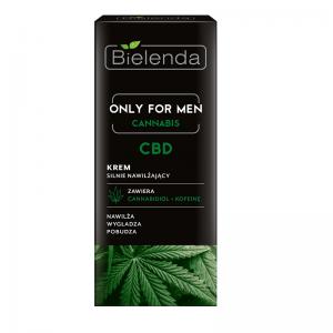 Krem silnie nawilżający Only For Men Cannabis CBD Bielenda 50ml