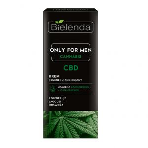 Krem regenerująco-kojący Only For Men Cannabis CBD Bielenda - biokosmetyki24.com