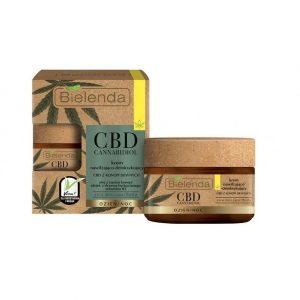 CBD Cannabidiol Krem nawilżająco-detoksykujący z CBD z konopi siewnych Bielenda 50ml - biokosmetyki24.com
