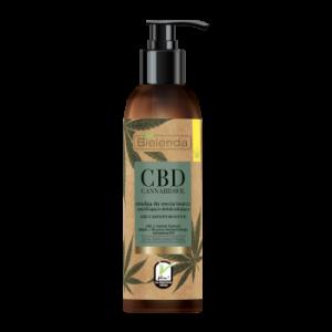 Emulsja do mycia twarzy nawilżająco-detoksykująca z CBD Konopie Bielenda 175g - biokosmetyki24.com