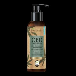 Olejek do mycia twarzy nawilżająco-kojący z CBD Konopie Bielenda 140ml - biokosmetyki24.com
