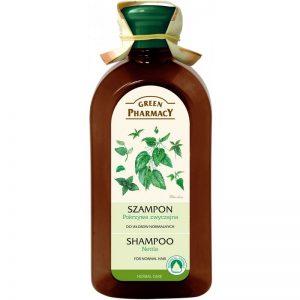 Szampon Włosy normalne Pokrzywa zwyczajna Green Pharmacy 350ml - biokosmetyki24.com