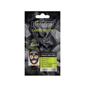 Oczyszczająca maska węglowa do cery mieszanej i tłustej CARBO DETOX Bielenda 8g