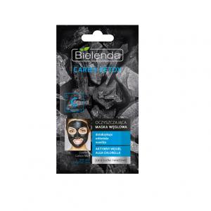 Oczyszczająca maska węglowa do cery suchej i wrażliwej CARBO DETOX Bielenda 8g