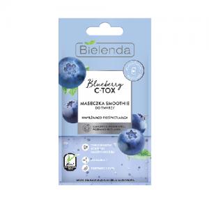 BLUEBERRY C-TOX Maseczka - smoothie nawilżająco-rozświetlająca - biokosmetyki24.com